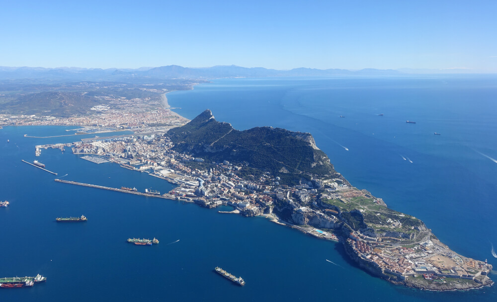Aerial view of The gibraltar